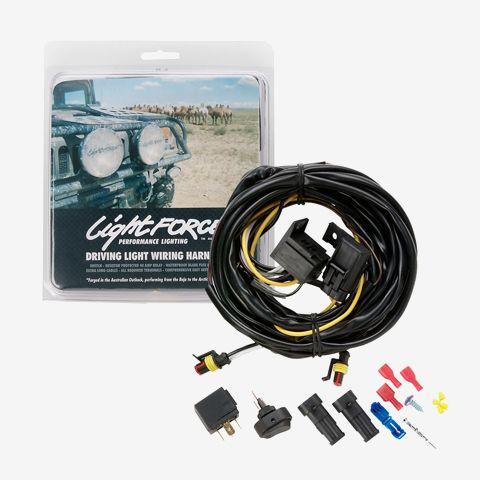 24v wiring harness halogen \u0026 hid pair