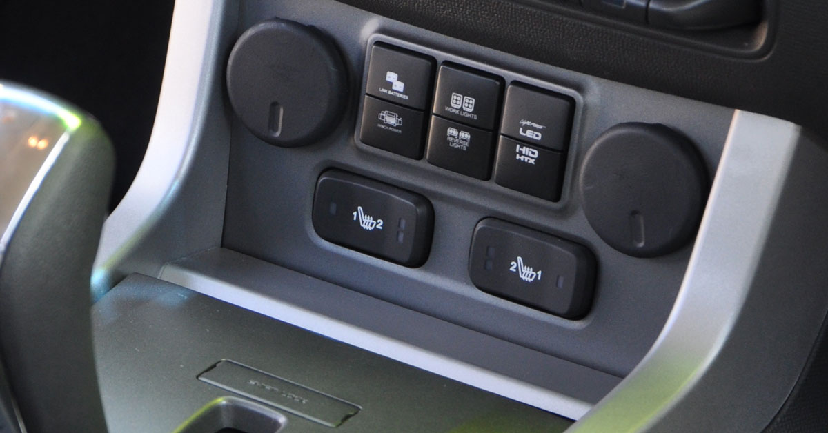 Lightforce adds a switch fascia for the Holden Colorado to its range of accessories