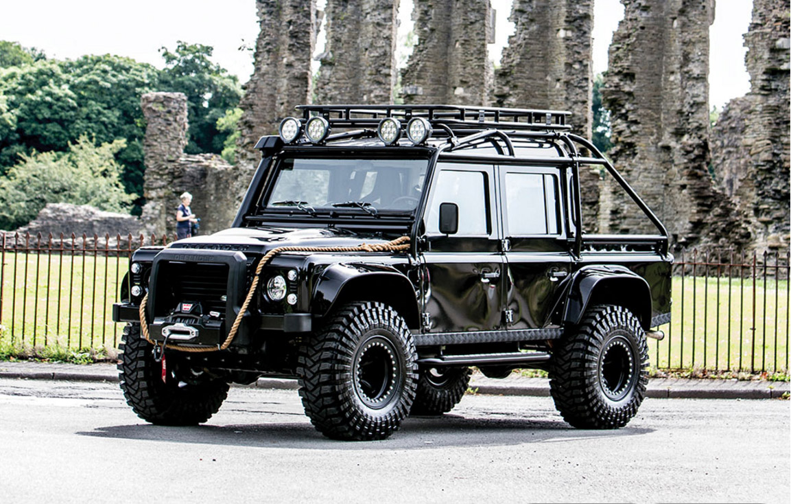 The 007 Spectre Land Rover is available - complete with Lightforce lights!