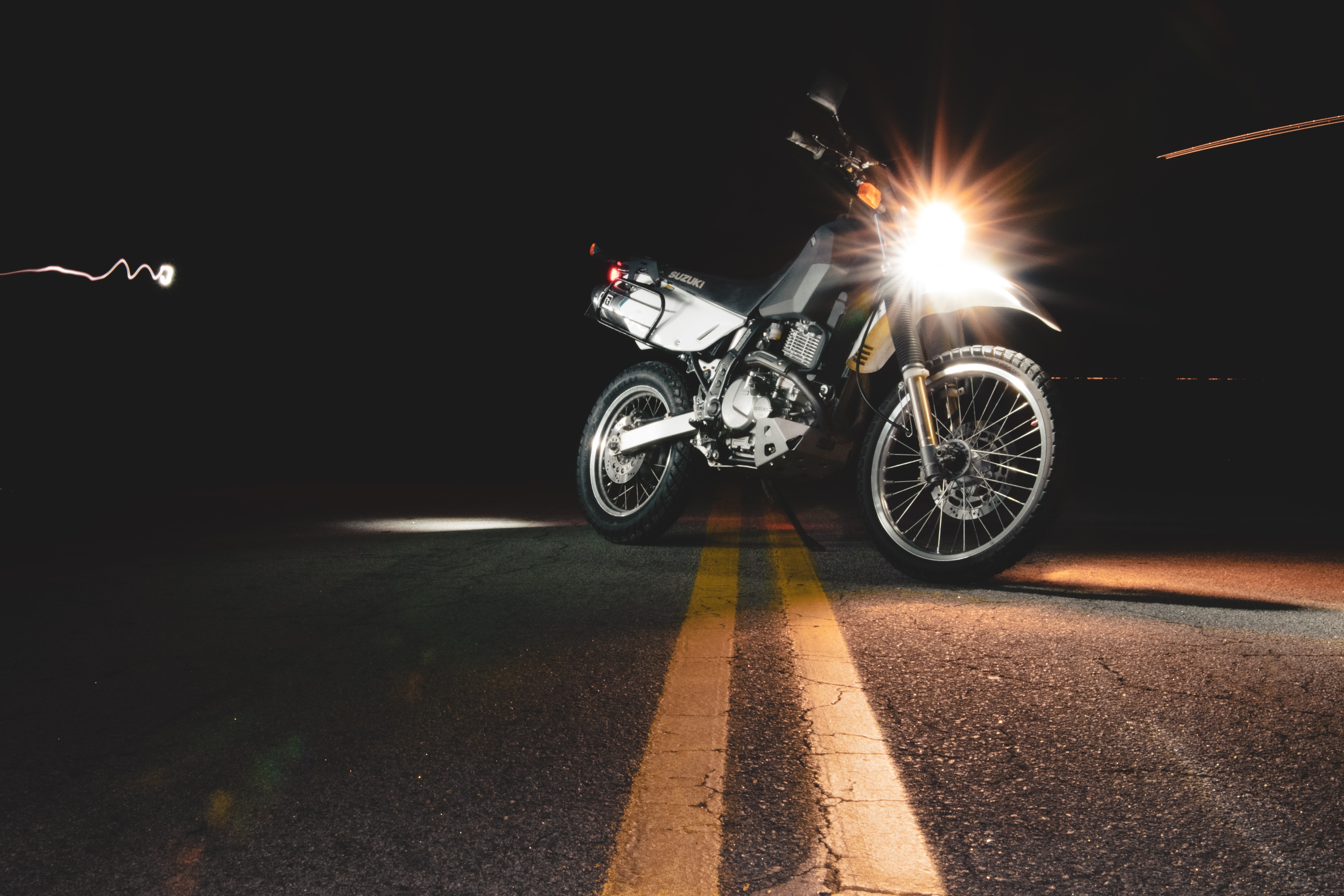 Which driving lights or utility lights are good for a motorcycle or ATV?