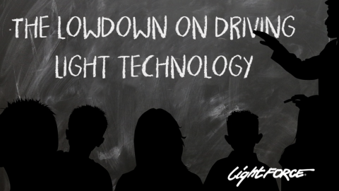 Driving Light Technology: Lesson One