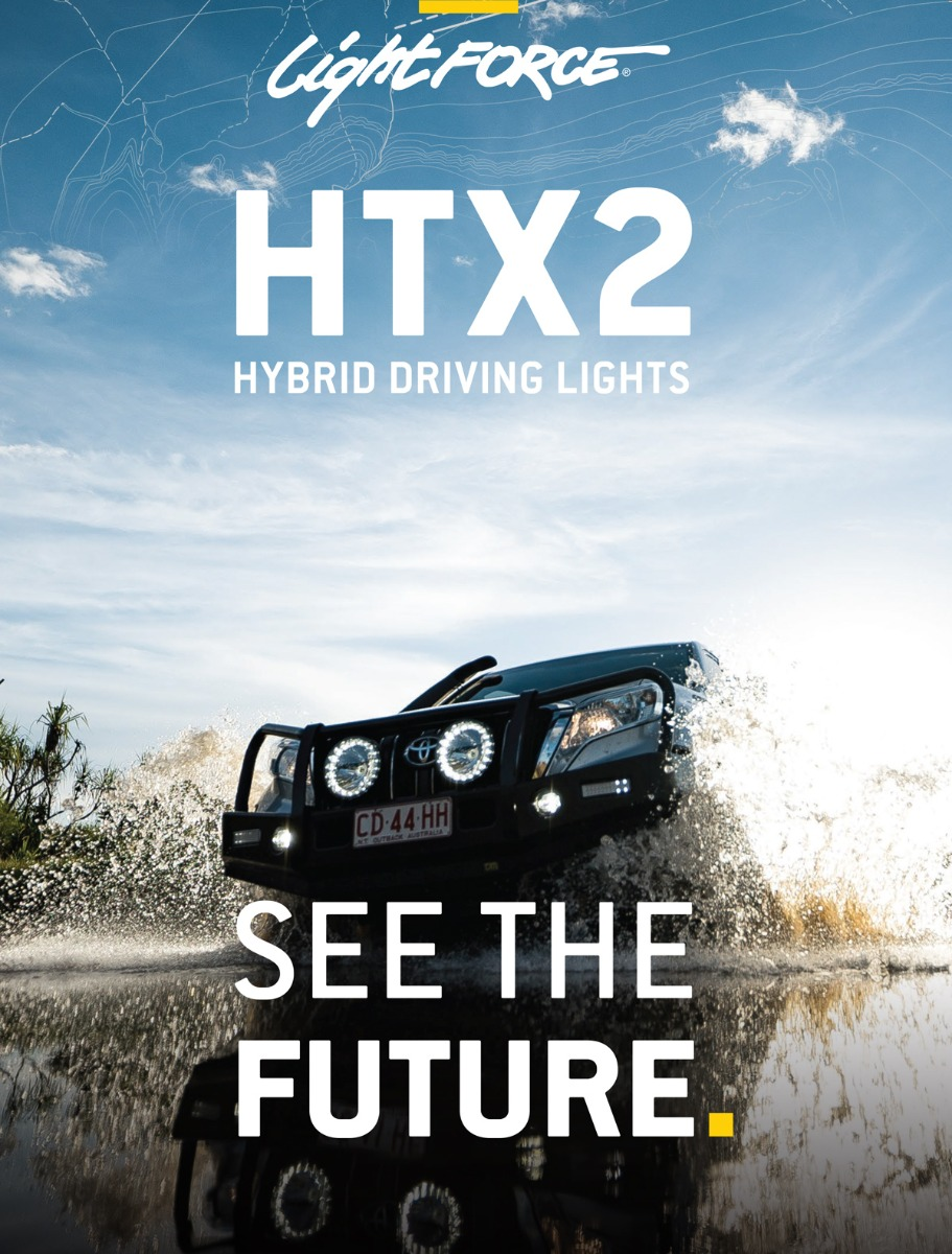 HTX2 Driving Lights See the Future