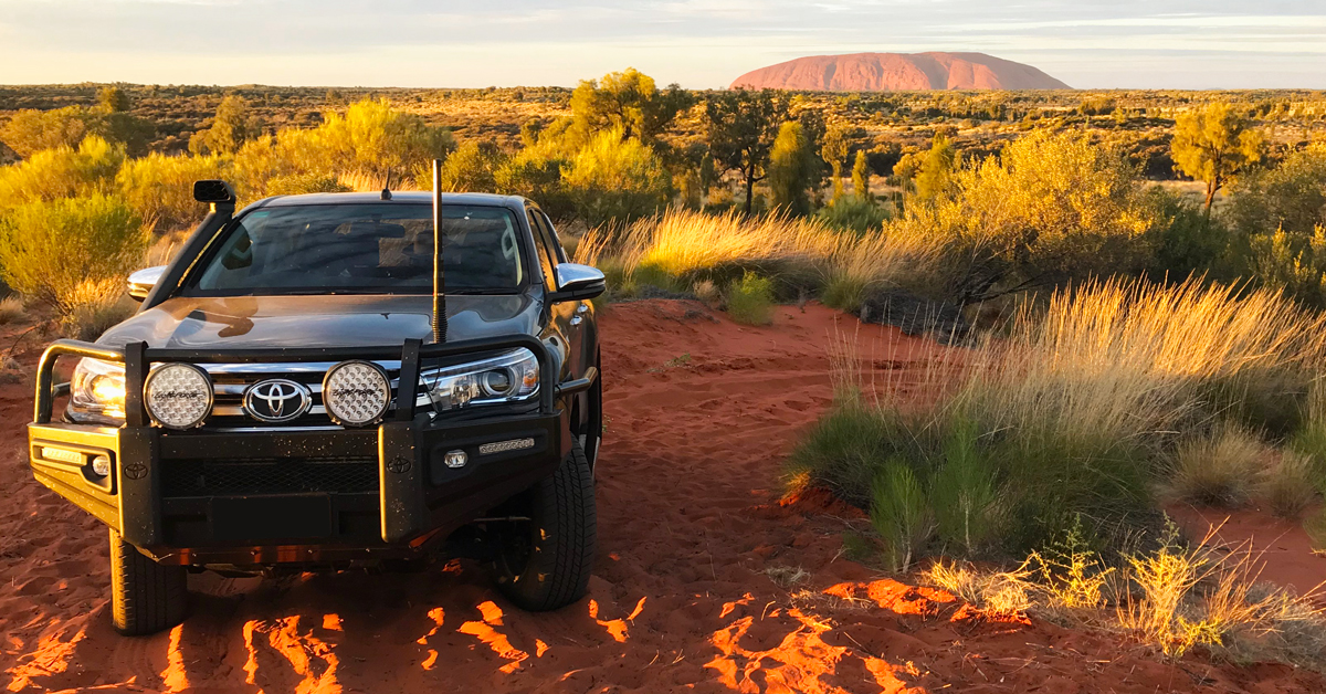 Lightforce accessories for Toyota Hilux