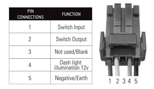 Lightforce Harness To Single Switch 8 Pin Adaptor High Performance Lighting